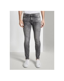 Tom Tailor Troy Slim Jeans, Heren, Grey Denim, 32/32 afbeelding
