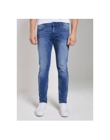 Tom Tailor Troy Slim Jeans, Heren, Light Stone Wash Denim, 38/30 afbeelding