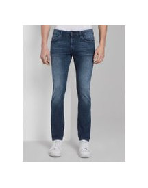 Tom Tailor Troy Slim Jeans, Heren, Mid Stone Wash Denim, 33/30 afbeelding