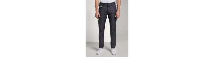 Image Tom Tailor Josh Regular Slim Jeans, Heren, Clean Raw Blue Denim, 33/32