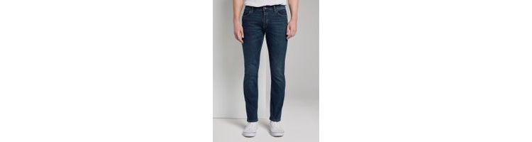 Image Tom Tailor Josh Regular Slim Jeans, Heren, Dark Blue Denim, 33/34