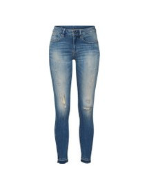 Jeans '3301 Mid Skinny Rp Ankle Wmn' afbeelding