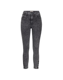 Jeans 'mile High Ankle Button Hem' afbeelding