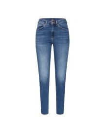 Jeans 'haut Cropped - Blue Treasure' afbeelding