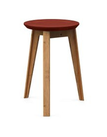 We Do Wood Button Stool - Bamboe Kruk afbeelding