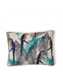 Riviera Maison Sierkussenhoes Galapagos Parrot (40x30 Cm) afbeelding