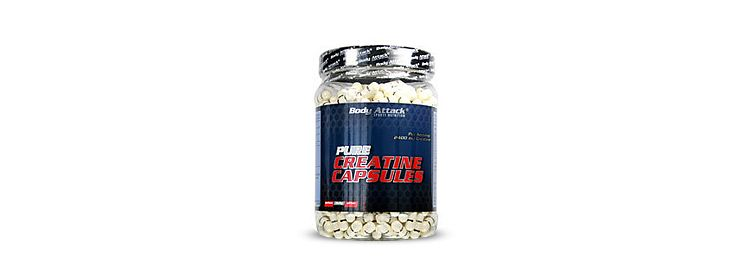 Image Pure Creatine Capsules 600 Caps