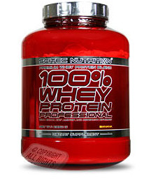 100% Whey Protein Prof. 2,35kg afbeelding