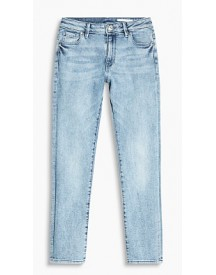Esprit Enkeljeans Met Veel Stretch Blue Medium Washed For Women afbeelding