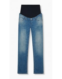 Esprit Softe Stretchjeans Met Band Over De Buik Medium Washed For Women afbeelding
