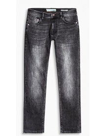 Esprit Jeans Van Organic Cotton Met Veel Stretch Black Dark Washed For Men afbeelding