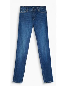 Esprit Stretchjeans Met Shaping Effect Blue Medium Washed For Women afbeelding