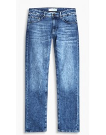 Esprit Stretchjeans Van Biologisch Katoen Blue Medium Washed For Men afbeelding