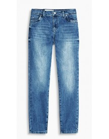 Esprit Zomerse 7/8-stretchjeans Blue Light Washed For Women afbeelding
