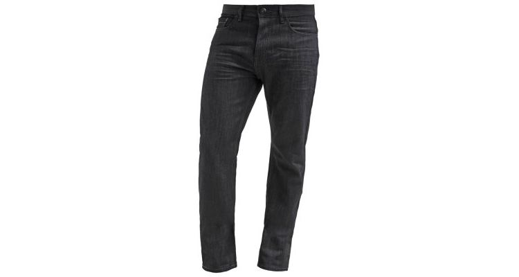 Image Burton Menswear London Straight Leg Jeans Black