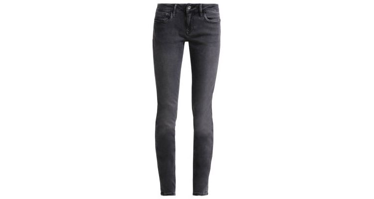 Image Calvin Klein Jeans Mid Rise Skinny Slim Fit Jeans New Core Grey