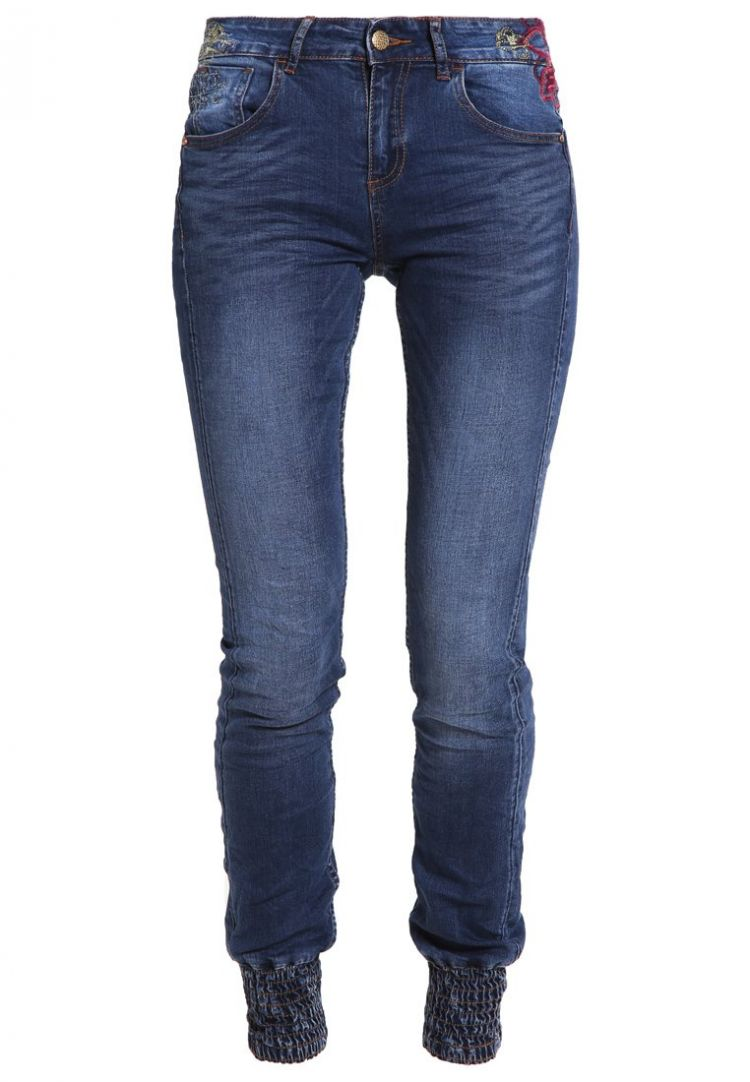 Image Desigual Refriposas Slim Fit Jeans Blue Denim