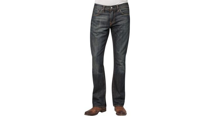 Image Levis® 527 Bootcut Bootcut Jeans Dusty Black