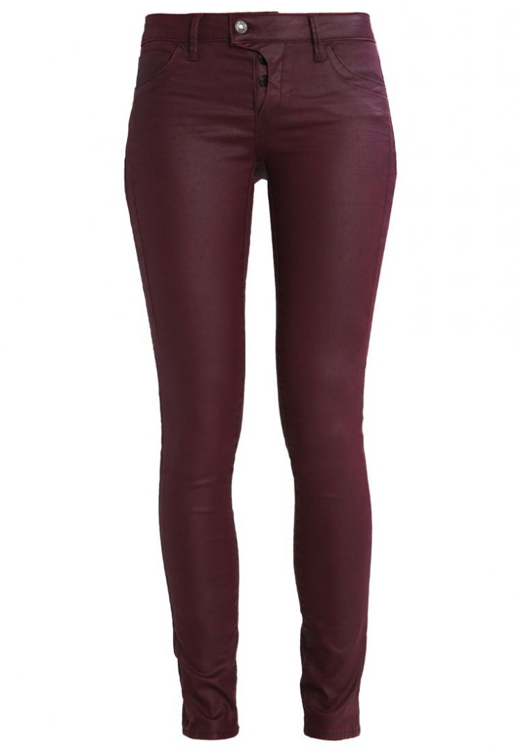 Image Mavi Adriana Slim Fit Jeans Bordeaux Jeather
