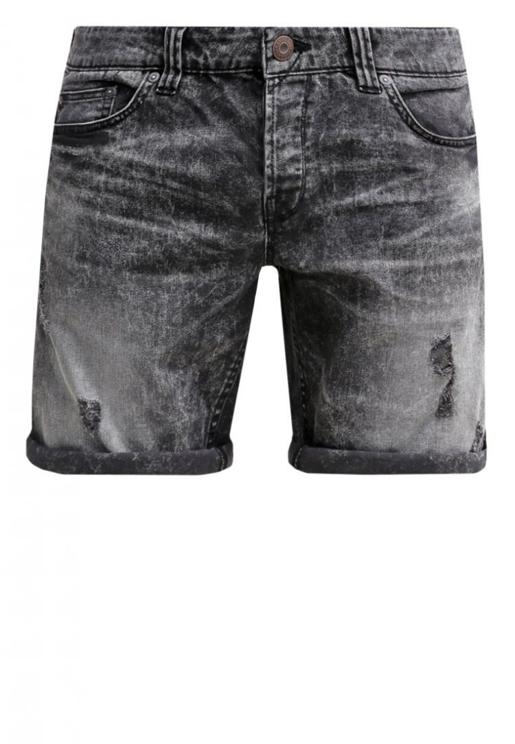 Image Only & Sons Onsloom Jeans Shorts Dark Grey Denim