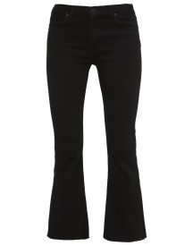 2ndone Janelle Flared Jeans Satin Black afbeelding