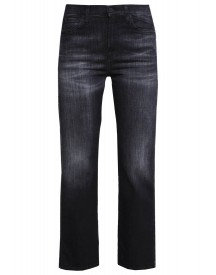 7 For All Mankind Bootcut Jeans Black Denim afbeelding