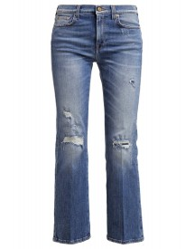 7 For All Mankind Bootcut Jeans Blue Denim afbeelding