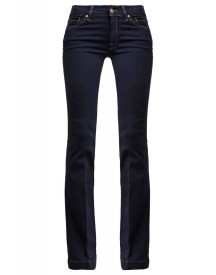 7 For All Mankind Charlize Flared Jeans Darkblue Denim afbeelding