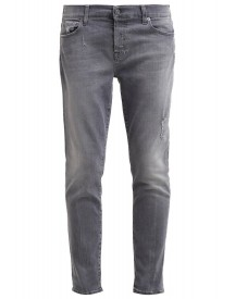 7 For All Mankind Josefina Relaxed Fit Jeans Grey Denim afbeelding