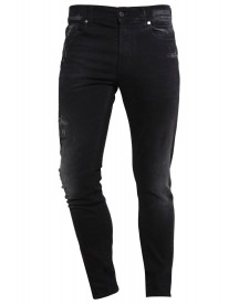 7 For All Mankind Larry Slim Fit Jeans Black afbeelding
