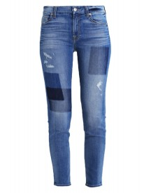 7 For All Mankind Slim Fit Jeans Blue Denim afbeelding