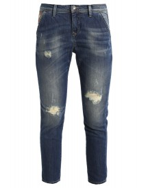 Benetton Relaxed Fit Jeans Denim Blue afbeelding