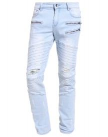 Black Kaviar Kescape Slim Fit Jeans Light Blue afbeelding