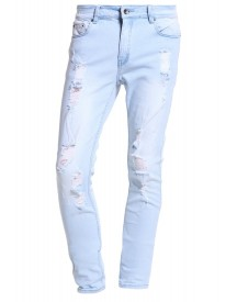Black Kaviar Koop Slim Fit Jeans Light Blue afbeelding