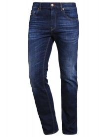 Boss Green Straight Leg Jeans Dark Blue afbeelding