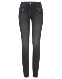 Brax Shakira Diamond Slim Fit Jeans Graphit afbeelding