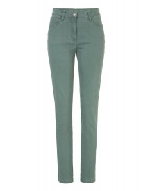 Brax Straight Leg Jeans Dusty Green afbeelding