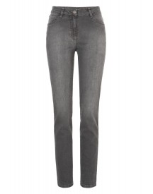 Brax Straight Leg Jeans Used Dark Grey afbeelding