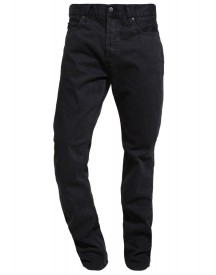 Carhartt Wip Texas Chicago Straight Leg Jeans Black Mill Washed afbeelding