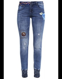 Desigual Slim Fit Jeans Denim Dark Blue afbeelding