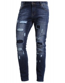 Drmtm Slim Fit Jeans Mid Blue Heavy Wash afbeelding