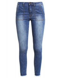 First And I Fipage Slim Fit Jeans Medium Blue Denim afbeelding