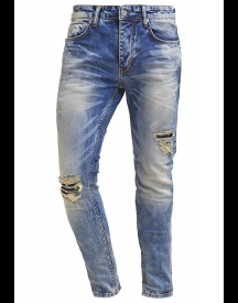 Fortyfour Slim Fit Jeans Bleached Denim afbeelding