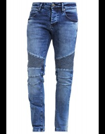 Fortyfour Slim Fit Jeans Blue Denim afbeelding