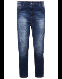 Fracomina Relaxed Fit Jeans Stonewash afbeelding