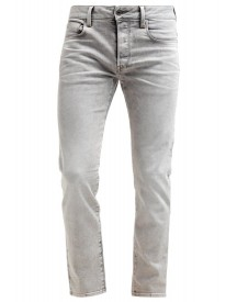 Gstar 3301 Straight Straight Leg Jeans Kamden Grey Stretch Denim afbeelding