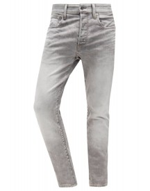 Gstar 3301 Tapered Jeans Tapered Fit Kamden Grey Stretch Denim afbeelding