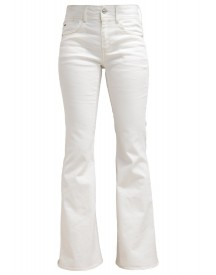 Gstar Lynn High Flarestream Bootcut Jeans Inza White Stretch Denim afbeelding