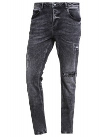 Gabba Rey Slim Fit Jeans Black Destroyed afbeelding