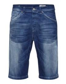 Jack & Jones Jeans Shorts Blue Denim afbeelding
